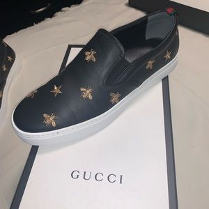 Gucci Bee Slip Ons